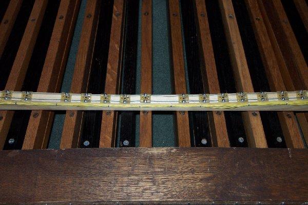 Fake pipe organ